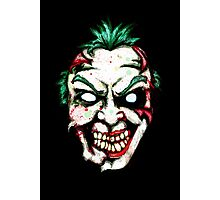 Zombie Clown Photographic Print