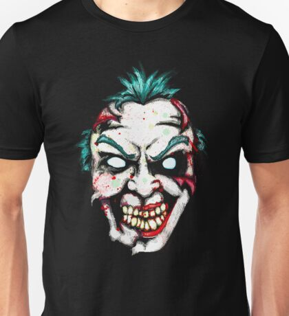 Zombie Clown Unisex T-Shirt
