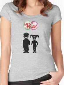 Clown & Quinn Balloons Mad Love Women's Fitted Scoop T-Shirt