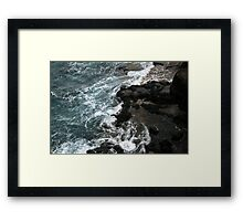 The Earth From Space Framed Print