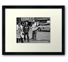 New York Street Photography 34 Framed Print