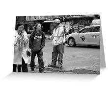 New York Street Photography 34 Greeting Card