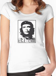 Cli-Che Women's Fitted Scoop T-Shirt
