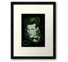 Clockface Doctor Framed Print