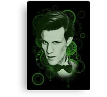 Clockface Doctor Canvas Print