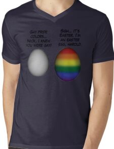 Sometimes an egg is just an egg Mens V-Neck T-Shirt