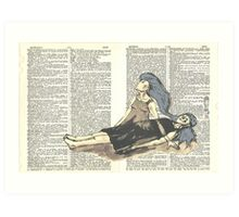 The Sleeper (Astral Projection) Art Print
