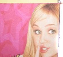 Miley Cyrus - Hipster sticker Sticker