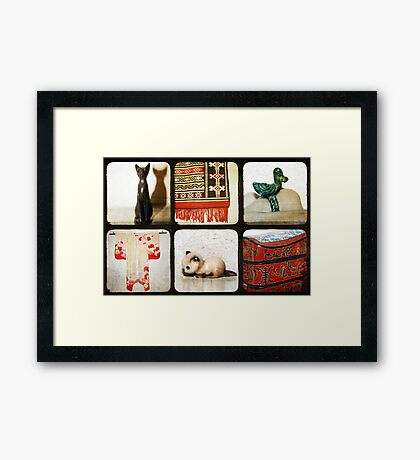 Things... Framed Print