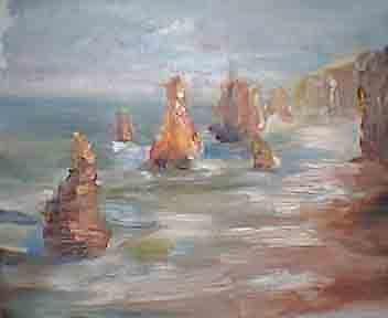 Great Ocean Road by Jean Cowan