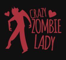 CRazy Zombie Lady by jazzydevil