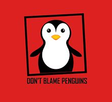 DON'T BLAME PENGUINS Mens V-Neck T-Shirt
