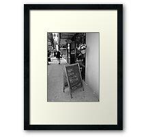 New York Street Photography 38 Framed Print
