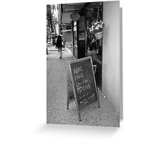 New York Street Photography 38 Greeting Card