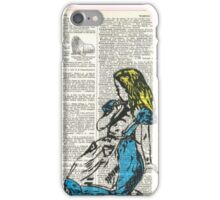 Alice & The Walrus iPhone Case/Skin