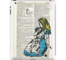 Alice & The Walrus iPad Case/Skin