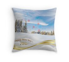 Great background image for creating Holiday Greeting postcards or computer wallpapers Throw Pillow
