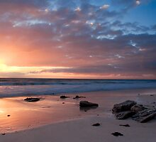 Port Willunga at sunset by Anna Vegter