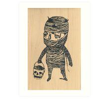 Mummyboy Art Print