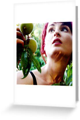 forbidden fruit #1 by Bronwen Hyde