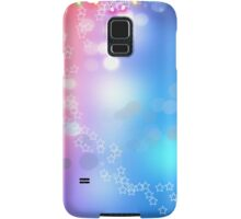 3d two colors winter holiday background 1 Samsung Galaxy Case/Skin