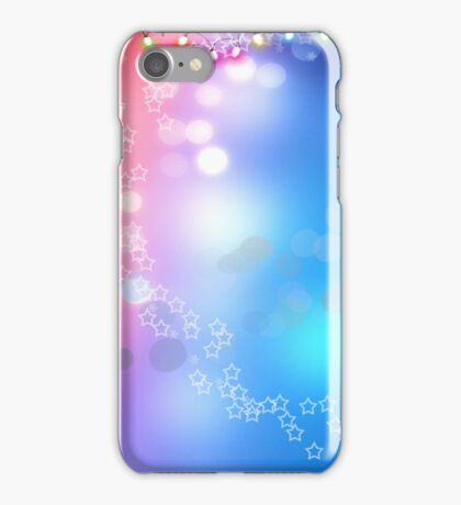 3d two colors winter holiday background 1 iPhone Case/Skin