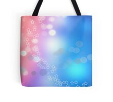 3d two colors winter holiday background 1 Tote Bag