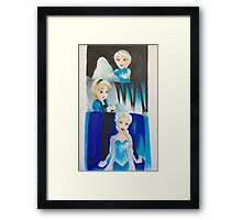 Elsa evolution  Framed Print