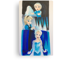 Elsa evolution  Canvas Print