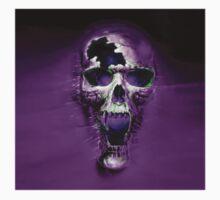 Purple Skull  by Tony  Bazidlo