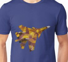 Polygon Fighter - SU-37 Model Low Poly Unisex T-Shirt