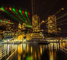 Christmas Light of Boston  by LudaNayvelt