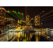 Christmas Light of Boston  Photographic Print