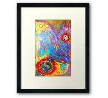 Unpredictable Galaxy Framed Print