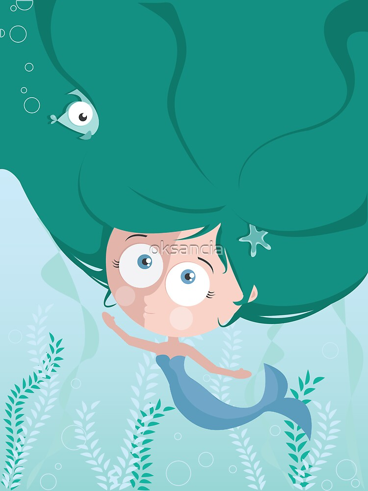 Mermaid by oksancia