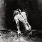 Morning Sex, Sadness; charcoal and chalk by pauldrobertson