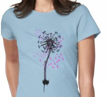 Dandelion Tree Womens Fitted T-Shirt