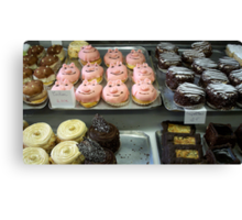Can you resist cakes ? Canvas Print