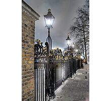 Greenwich Park Gates Photographic Print