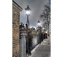 Greenwich Park Gates Photographic Print