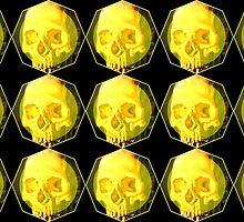 Yellow Skull by Bethany-Bailey