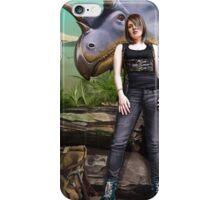 In her Element, Paleontologist. iPhone Case/Skin
