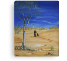 Walkabout Canvas Print