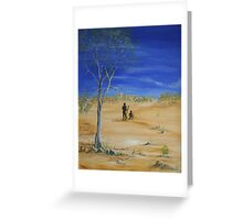 Walkabout Greeting Card