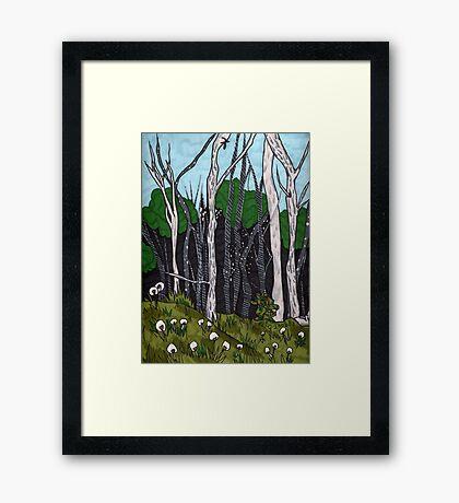 Sacred Earth Framed Print