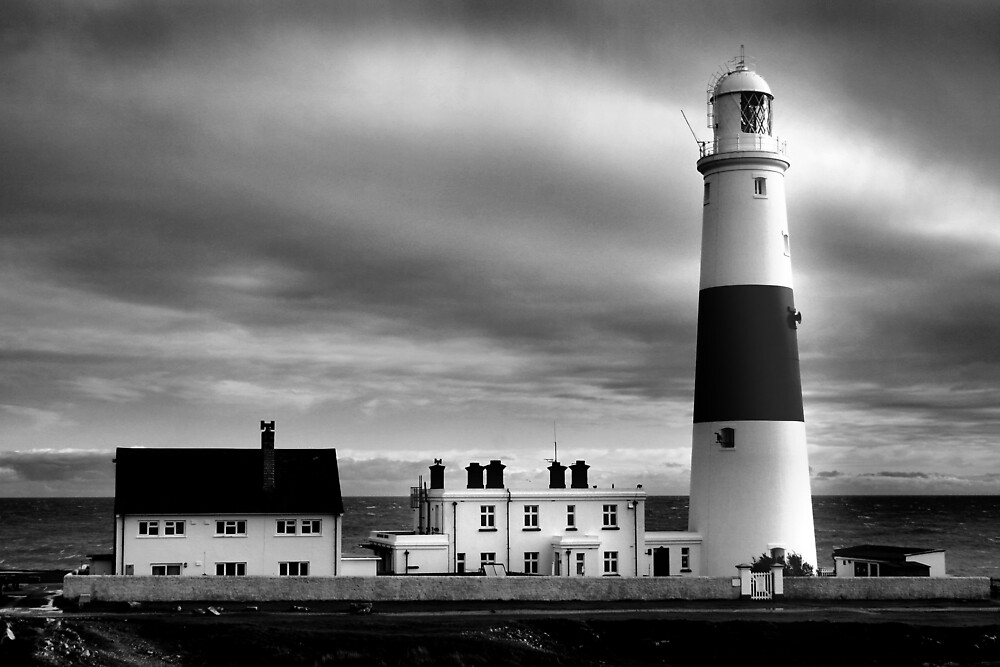 Portland Bill Lighthouse, UK by goodie