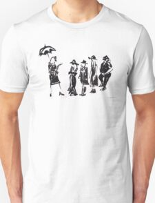 Wear this Ink Wash on Wednesdays Unisex T-Shirt