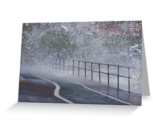 SPLASH. Greeting Card