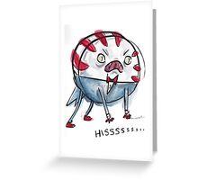 Demon Peppermint Butler - HISSSSSS Greeting Card