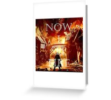Now I See Fire Greeting Card